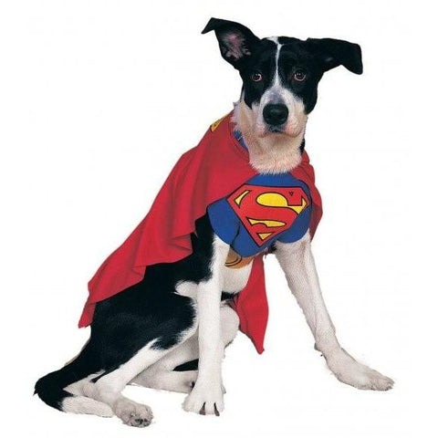 Classic Superman Pet Costume