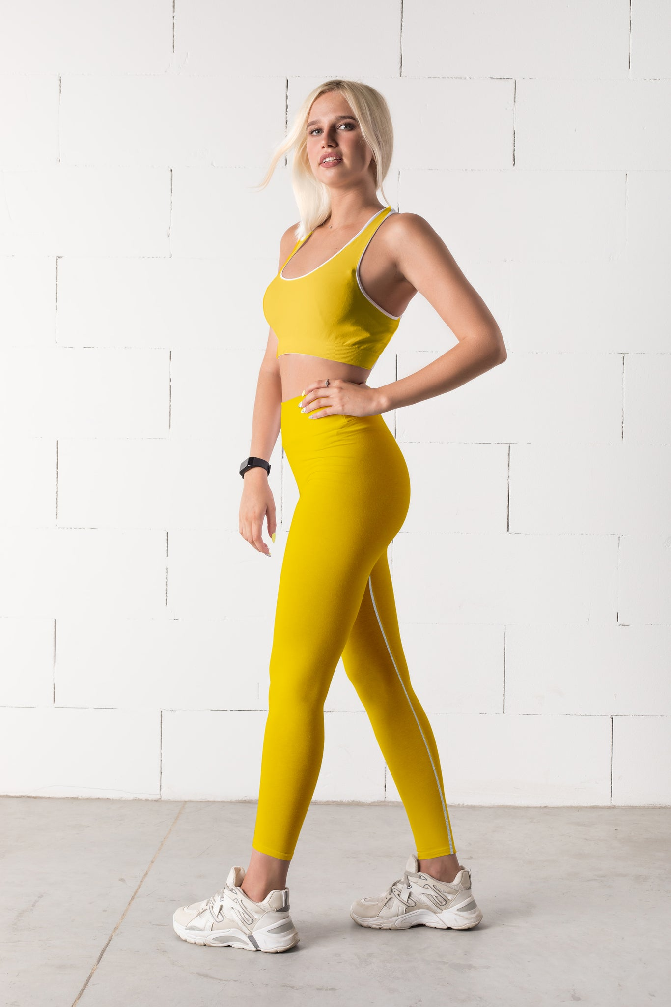 Yellow Fitness Set