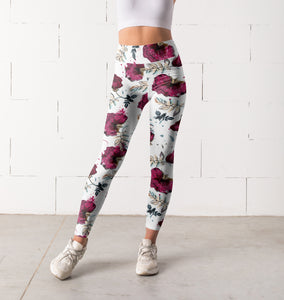 Floral leggings, Capris and Shorts