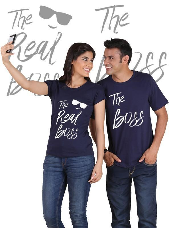 The Real Boss Couple T-Shirts