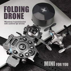 Folding Mini Drone [300K WIFI aerial photography]