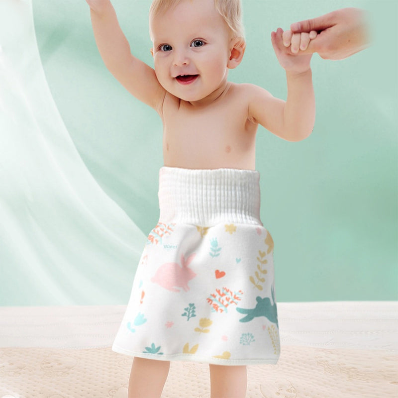 Baby Cotton Diaper Training Skirt