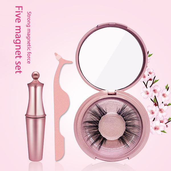 False Eyelashes Magnetic Eyeliner Set