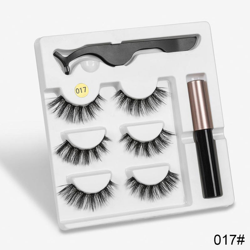 Long Magnetic Eyelashes With Magnetic Eyeliner