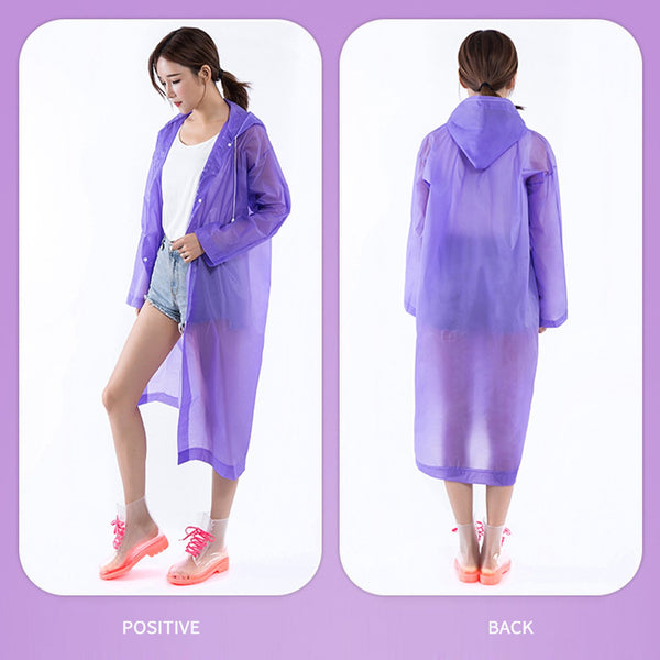 Disposable Protective Raincoat
