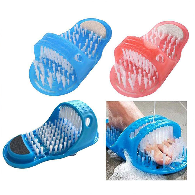 Household Bathroom Foot Cleaning Brush Slippers To Remove Dead Skin and Massage Feet