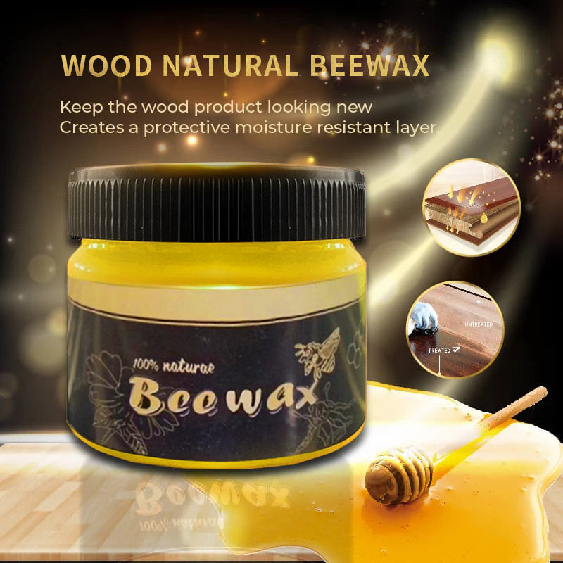 Wood Natural Beewax