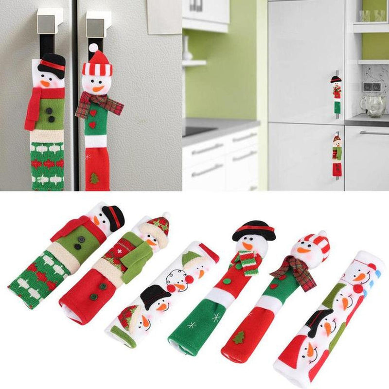 Christmas Snowman Fridge