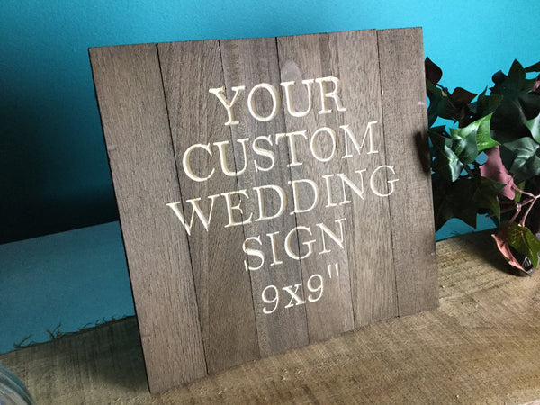 Wood Signs Wedding Wooden Welcome Table Signage Custom Personalized Rustic Wedding Decor for Cards Gifts Favors Sign Our Guestbook Carved