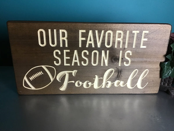 college football sign professionsl football sign football Wood Signs Mens Home Decor Guys Birthday Gift for Him high school football sign