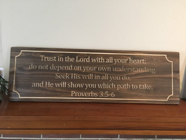 Bible Verse Signs And Wood Gifts Sullivan Woodwork