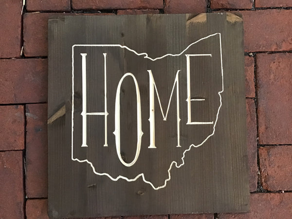 Home inside the shape of ohio