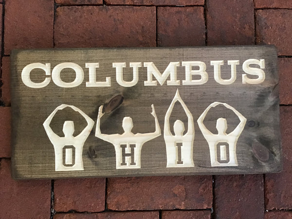 Columbus OHIO sign