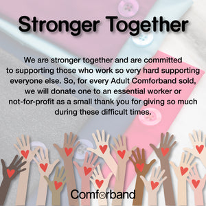 Comforband Headband Donation To Essential Workers