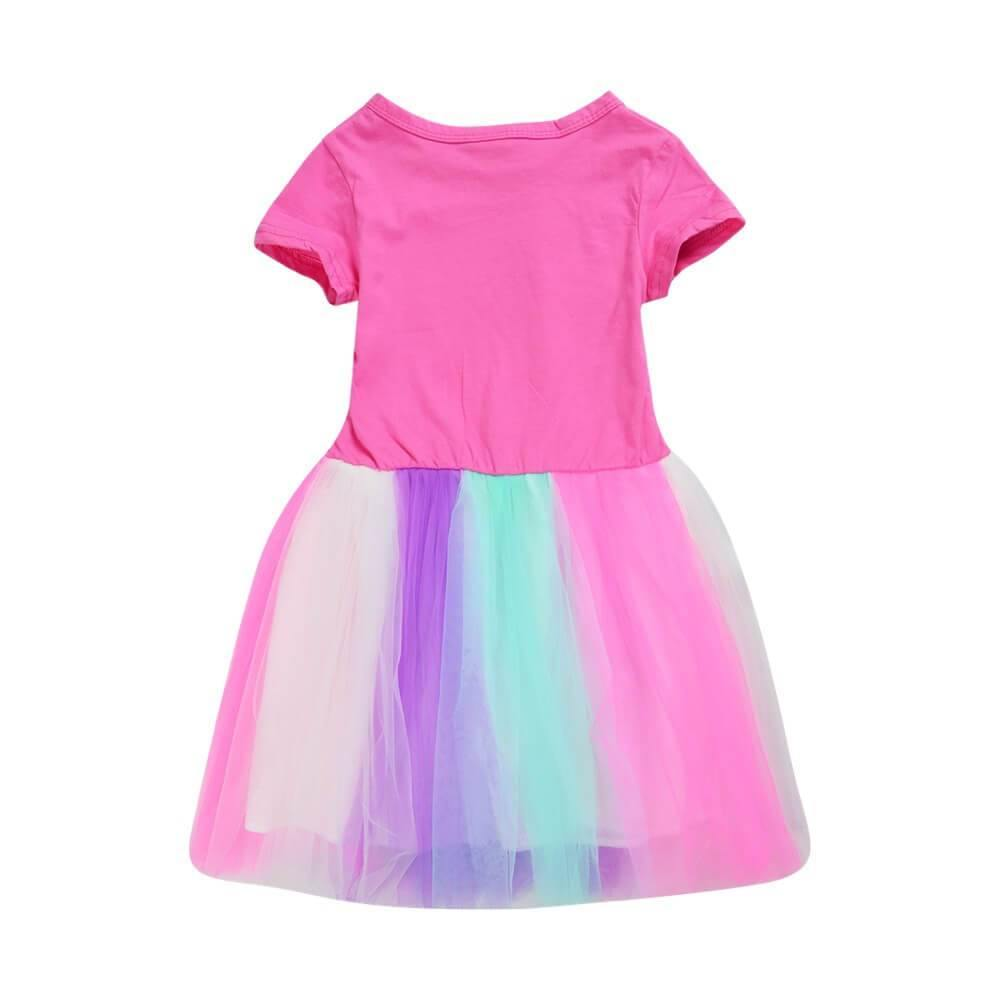 Pink And White Roblox Outfits Roblox Builderman And Mr Robot Print Girls Cotton Rainbow Tulle