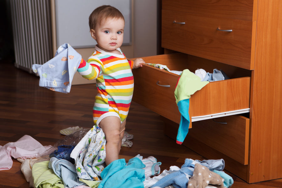 How to Organise a Baby Wardrobe