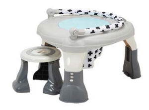 MyChild My Lovely World 3-in-1 Activity Centre Bouncer /& Play Table