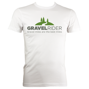 T-Shirt - Gravel miles are the best miles - Men's - Regular Fit