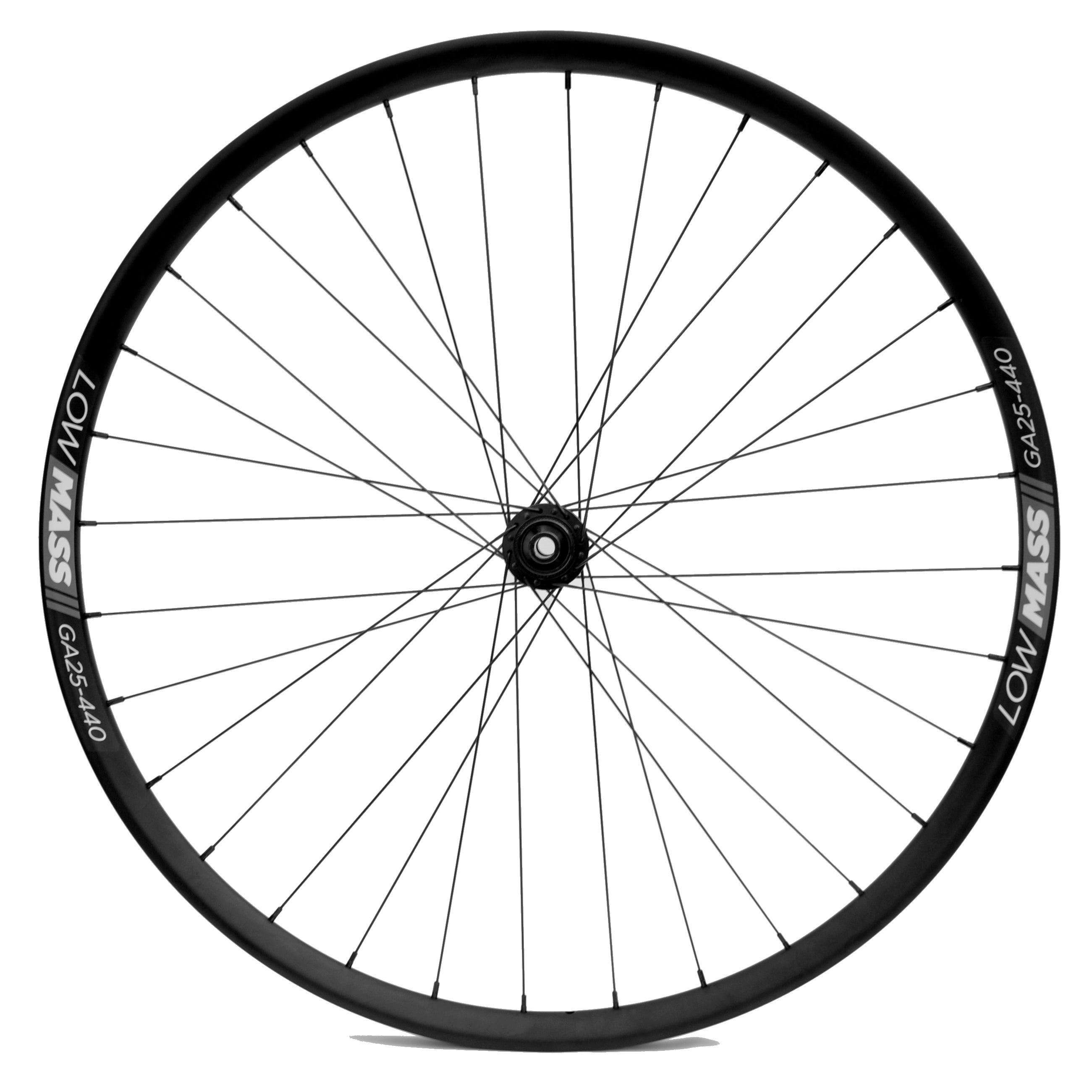 700C LOWMASS Aluminium Gravel Tubeless Disc Wheelset