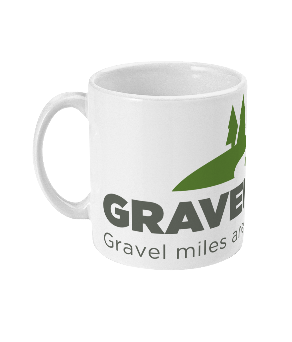 MUG - Gravel miles are the best miles