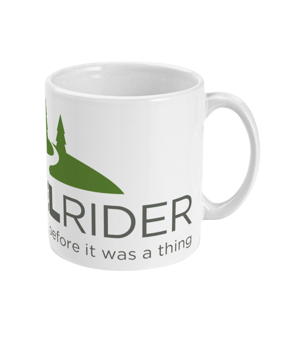 MUG - Riding Gravel since before It was a thing