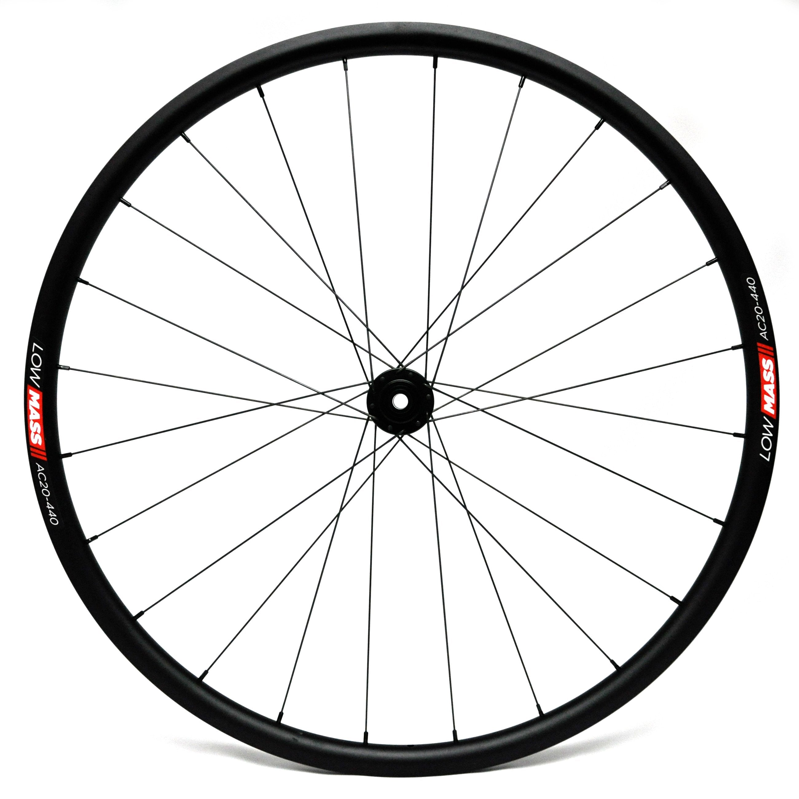 700C LOWMASS Multi-Purpose Aluminium Tubeless Disc Wheelset