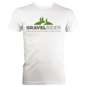 T-Shirt - Riding Gravel since before it was a thing - Men's - Regular Fit