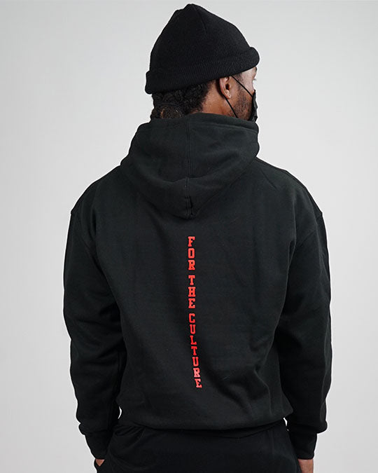 "Black on Black ""Ball Family Farms"" Hoodie"