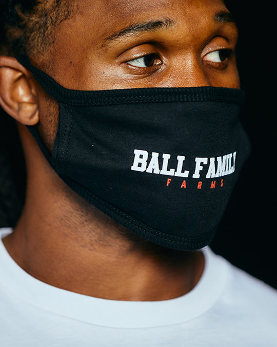 """Ball Family Farms"" Cotton Mask"