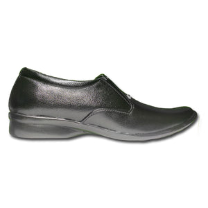 Men's Leather Wrinkle Free Formal Slip-on Shoes