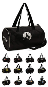 Gym Bag Duffel Bag for boys Girls Black 15 ltr.