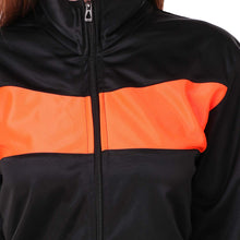 Load image into Gallery viewer, Dee Mannequin Super Poly Women Track Suit Sports (Black / Orange)