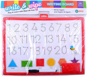Write & Wipe Writing Board Learning Slate For Toddlers kids