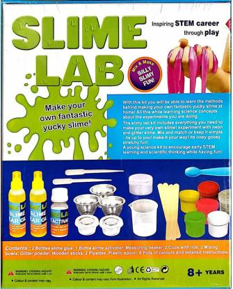 SLIME LAB Make Your Own Spooky Slime