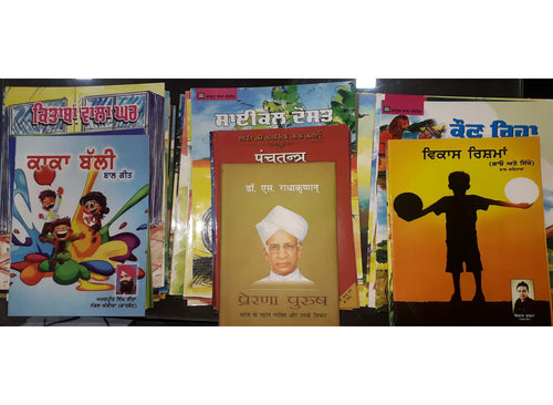 Set of Colored Books for Punjab Govt. Primary School Library
