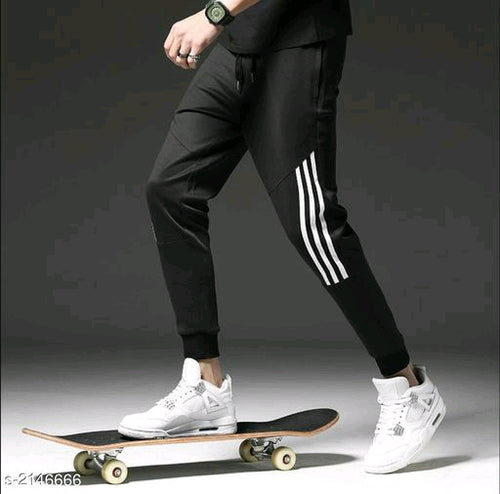 Comfy Voguish Polyester Men's Track Pants