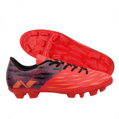 NIVIA Destroyer 2.0 Red Football Shoes for Men