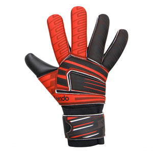 NIVIA Raptor Torrido Football GoalKeeper Gloves Black/Orange