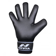 Load image into Gallery viewer, NIVIA Ditmar Spider Football GoalKeeper Gloves Black