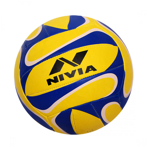 NIVIA Trainer Volleyball Size – 4 (Yellow / Blue)