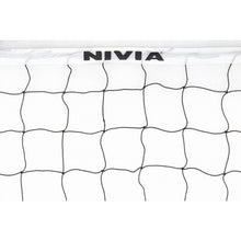 Load image into Gallery viewer, NIVIA Volleyball Net PE without Knot 9.5x1.0mtr (Black)
