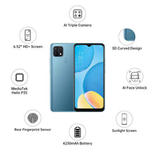 Load image into Gallery viewer, OPPO A15 (2GB RAM, 32GB Storage) Mystery Blue