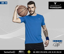 Load image into Gallery viewer, TechnoSport Crew Neck Half Sleeve Dry Fit T Shirts for Men OR-10