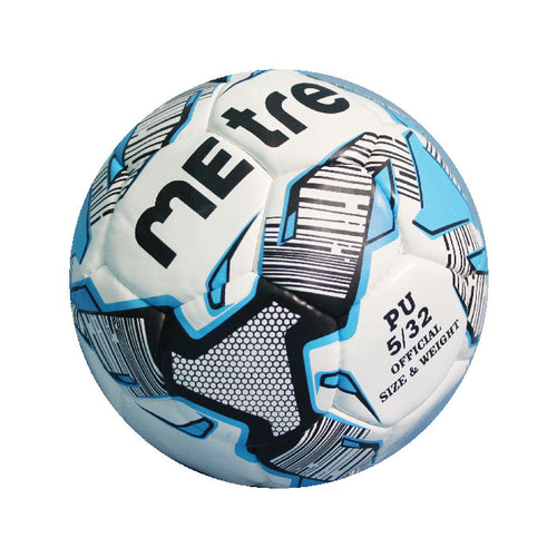 MEtre Blue Training Match Football - 5 (Blue/White)