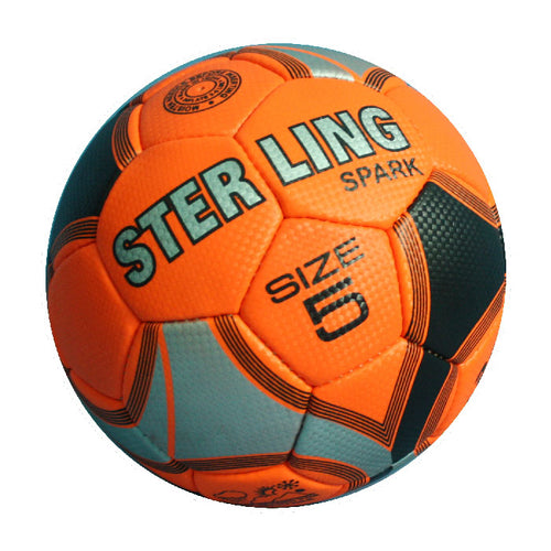 Sterling Spark Orange Training Match Football - 5