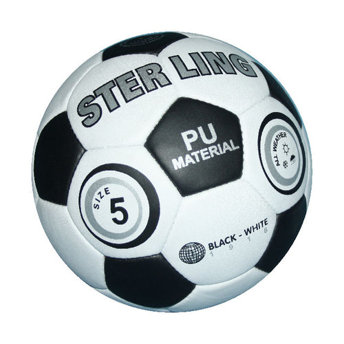 Sterling Blank - White Training Match Football - 5
