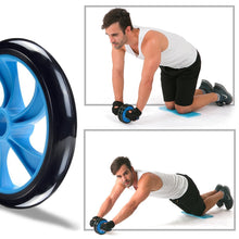 Load image into Gallery viewer, Sterling Total Body AB-Exerciser Double Wheel Roller