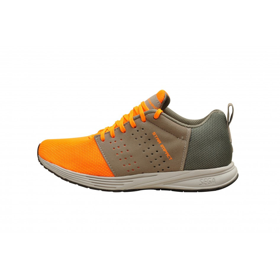 Sega Extro Running Shoes (Orange)