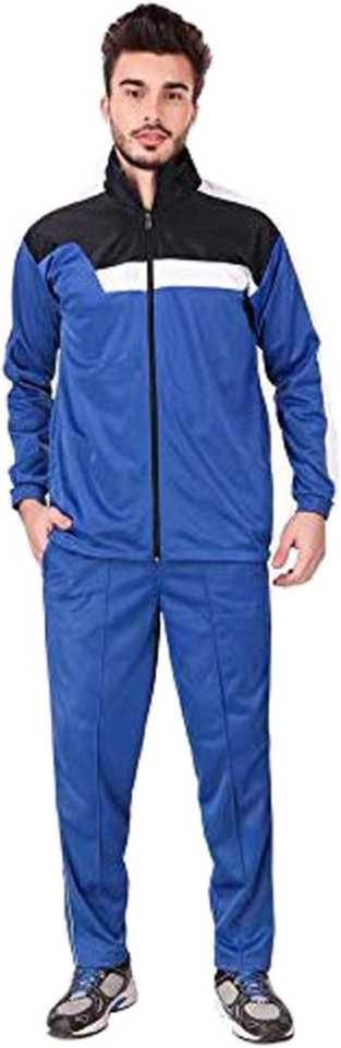 Solid Men Track Suit
