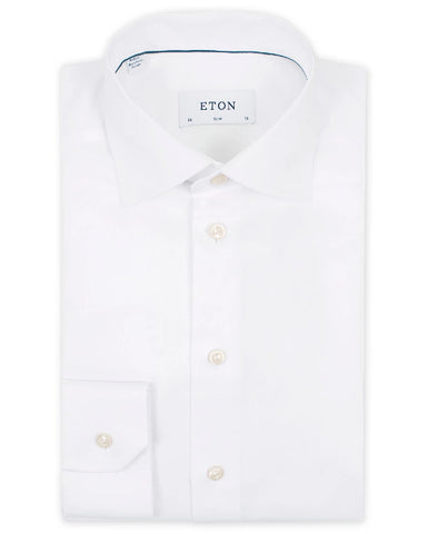 Eton Shirt - Signature Twill 38